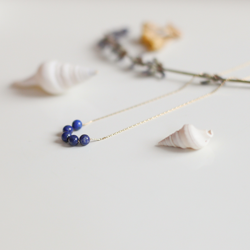 Collier Héloïse - Lapis Lazuli