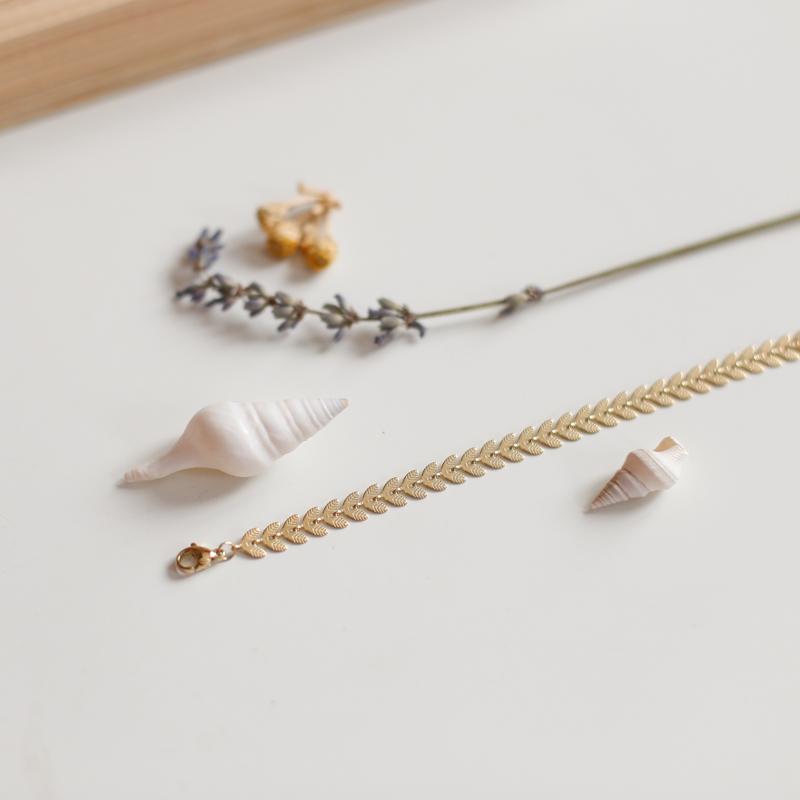 Bracelet Aïda - Doré