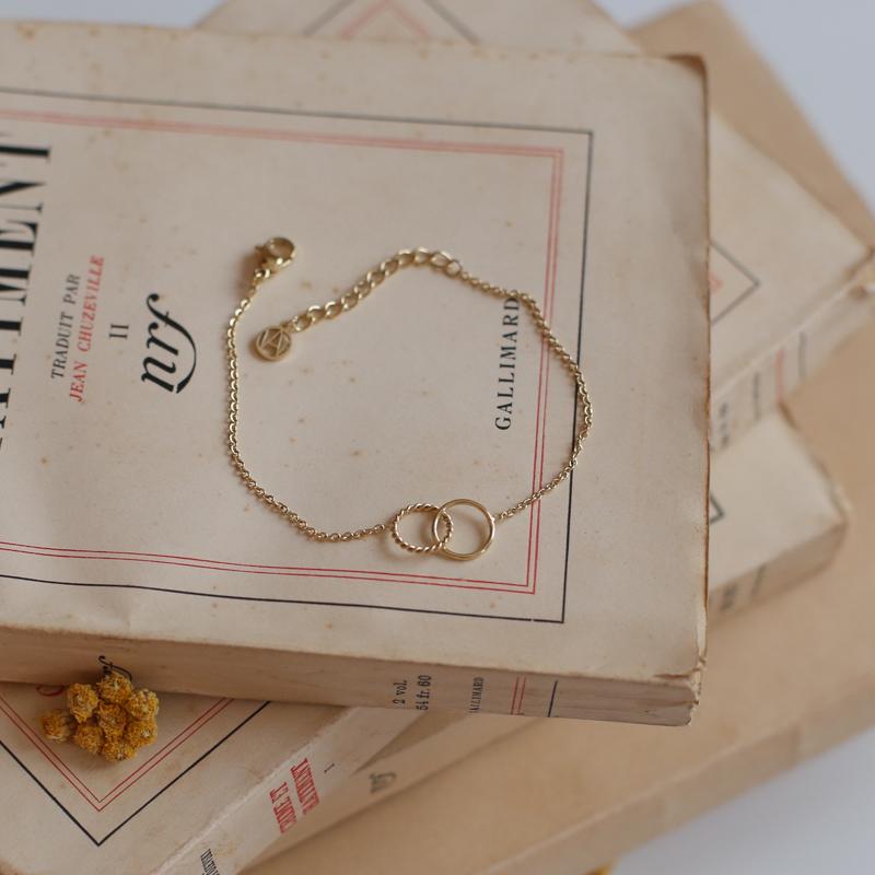 Bracelet Carole - Doré