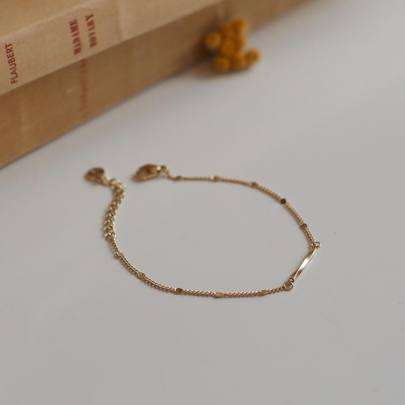 Bracelet Agathe - Doré
