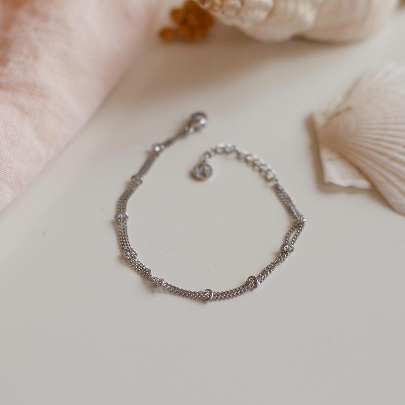 Bracelet Eugénie - Argenté