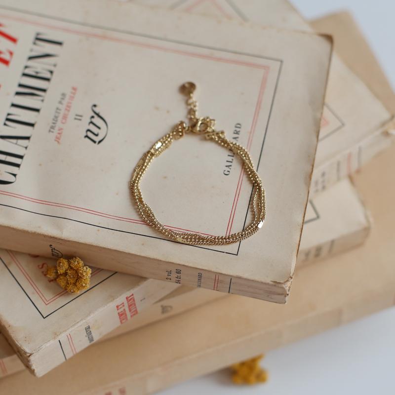 Bracelet Harmonie - Doré