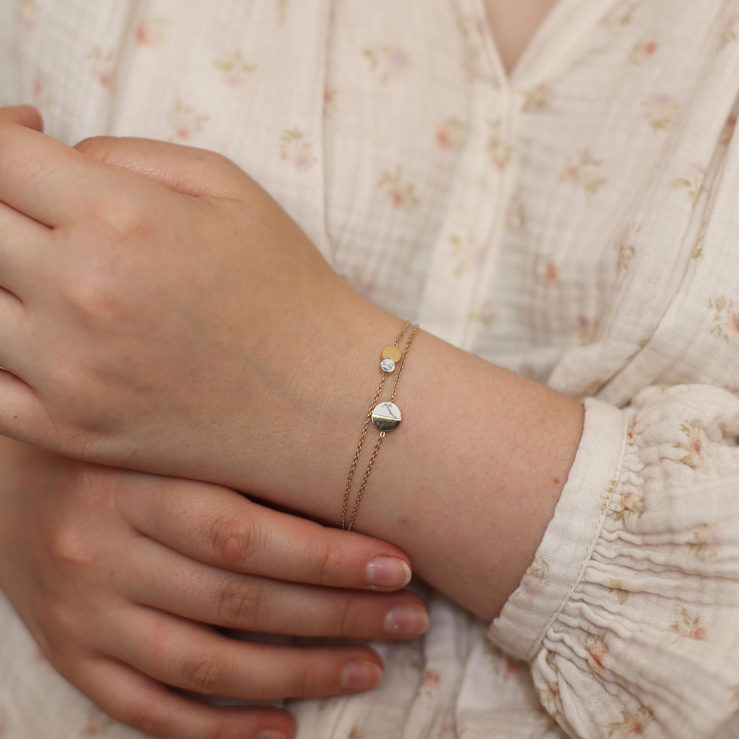 Bracelet Aurore - Doré