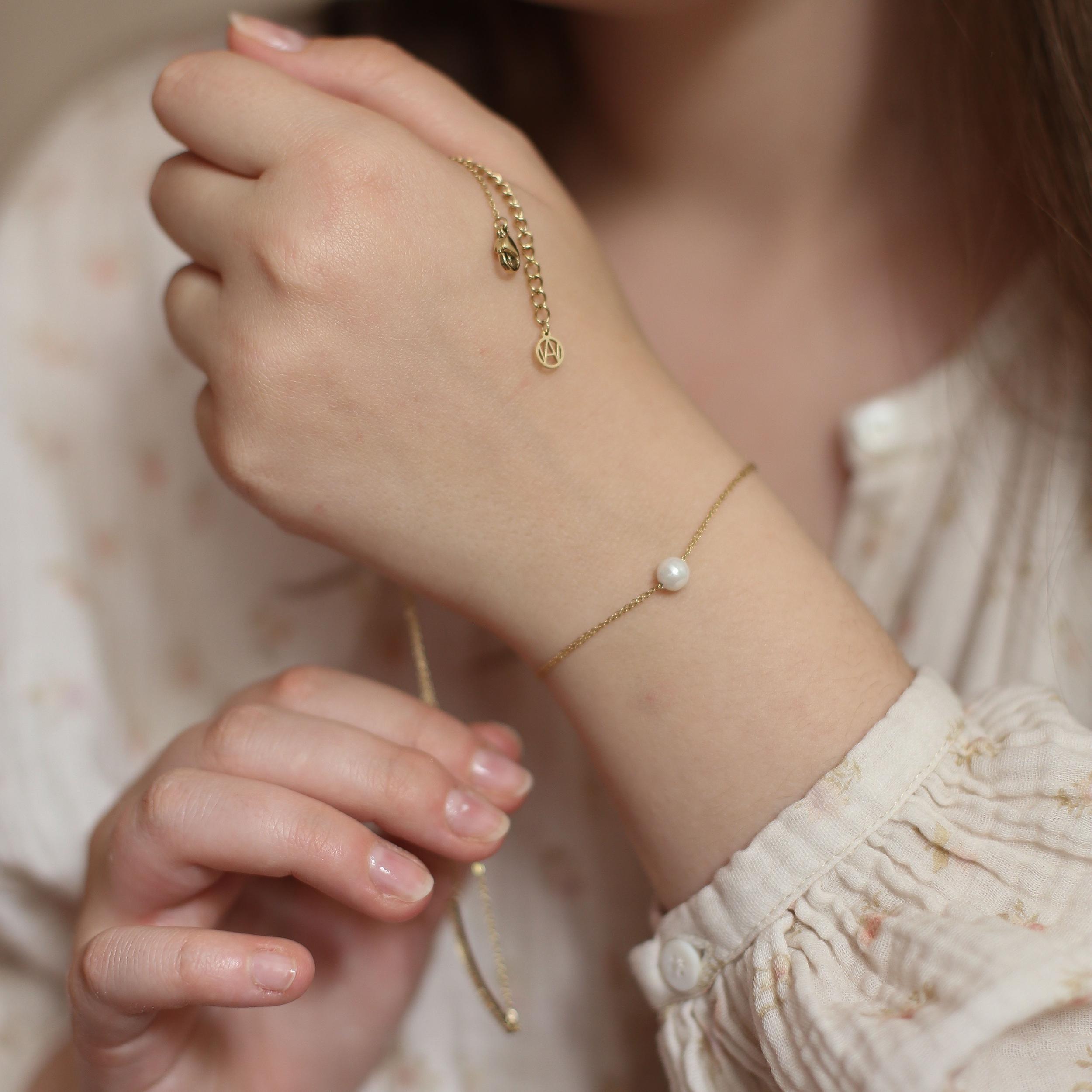 Bracelet Colombe - Doré