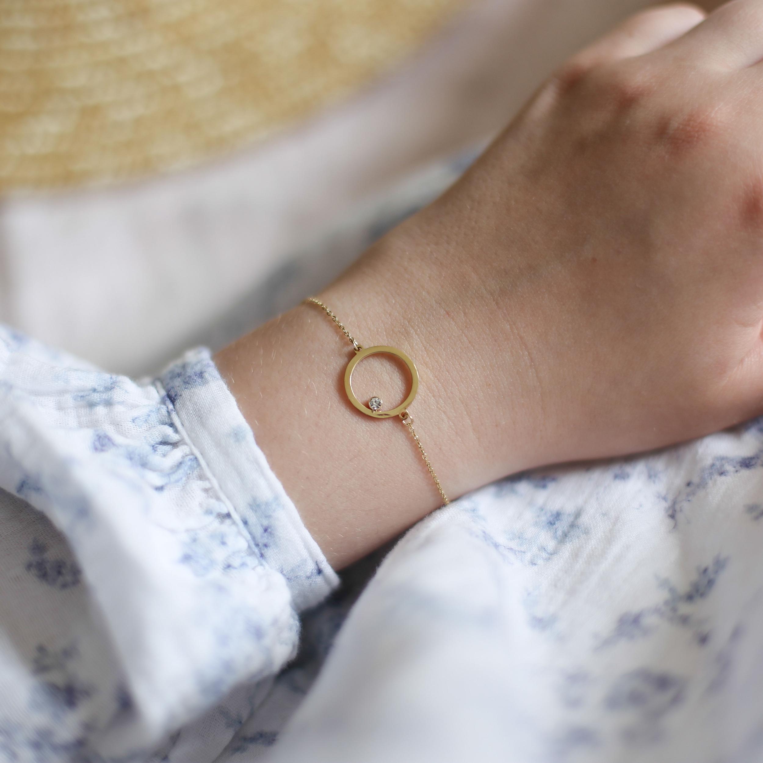 Bracelet Astrée - Doré