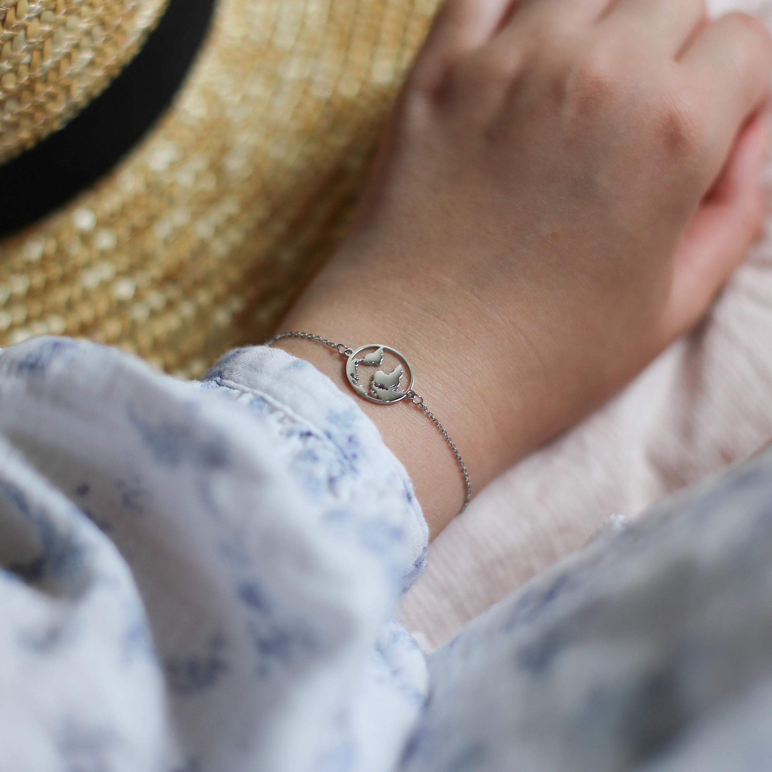 Bracelet Céleste - Argenté