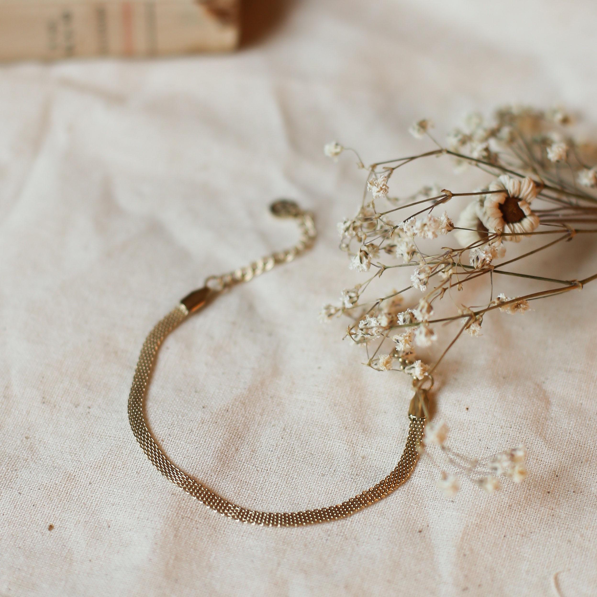 Bracelet Adèle - Doré