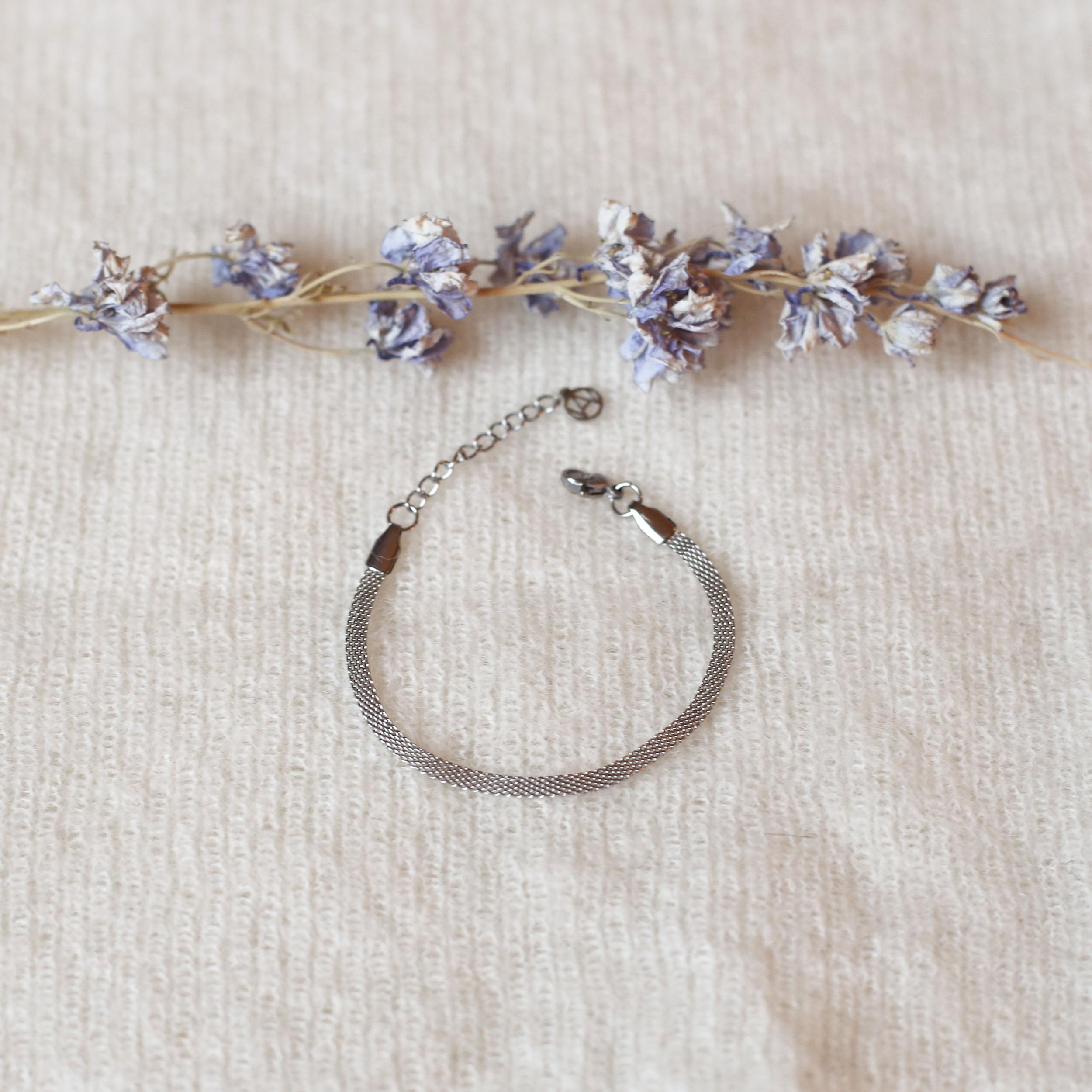 Bracelet Adèle - Argenté