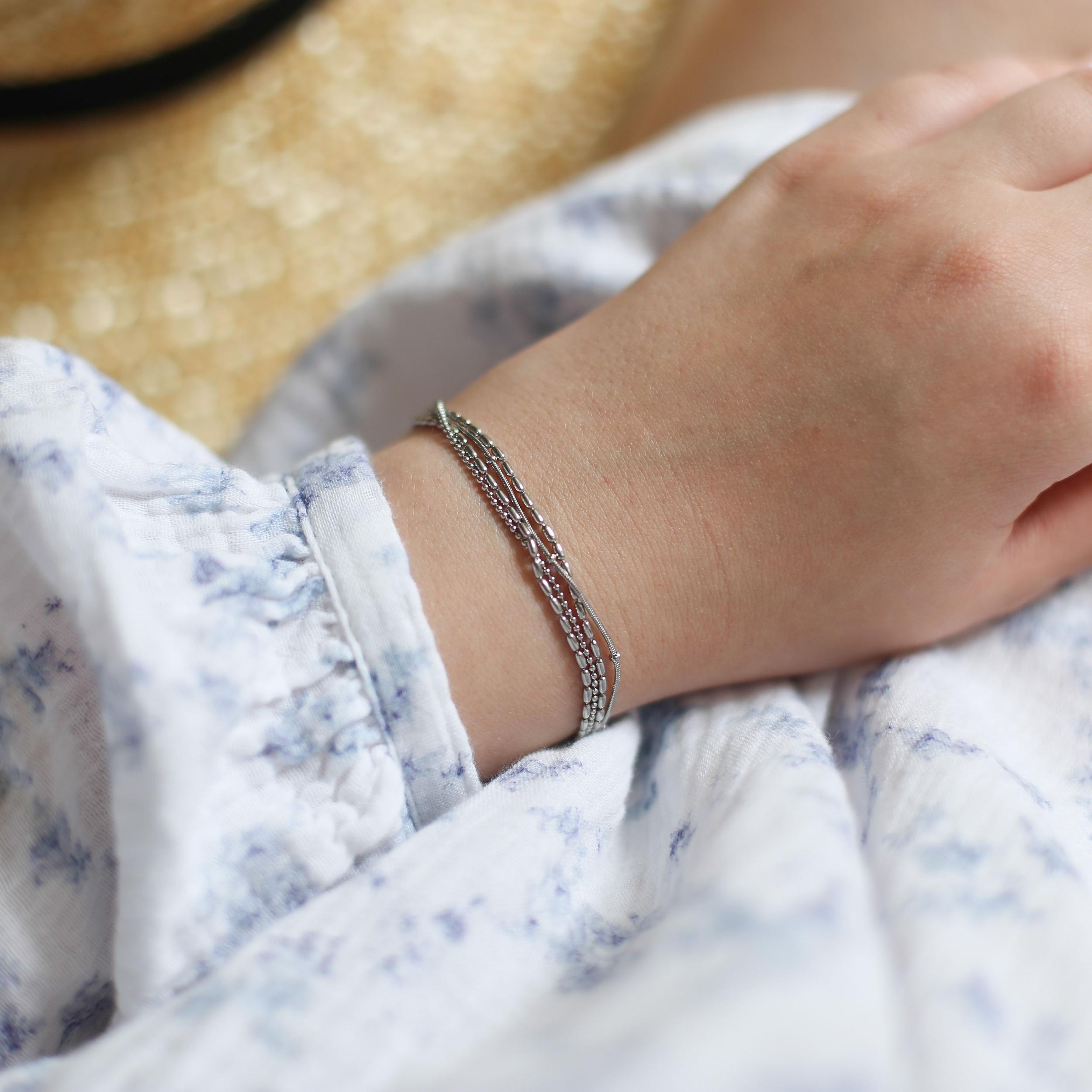 Bracelet Roxane - Argenté