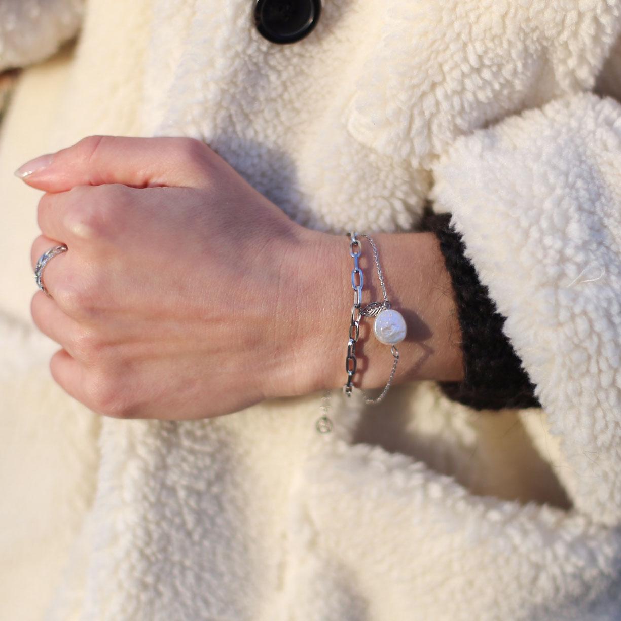 Bracelet Cerise - Argenté
