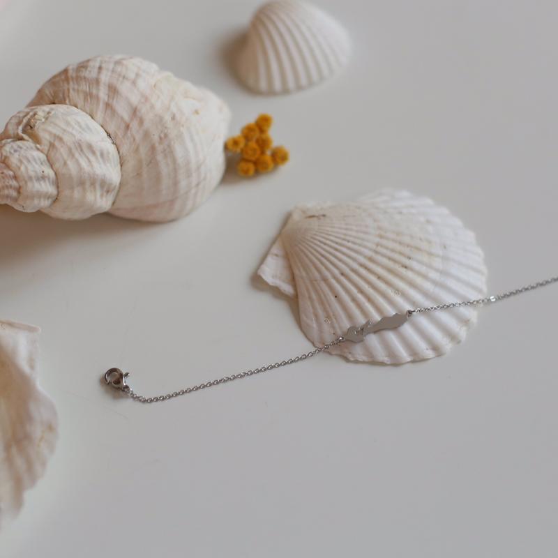 Bracelet Île de Ré - Argenté