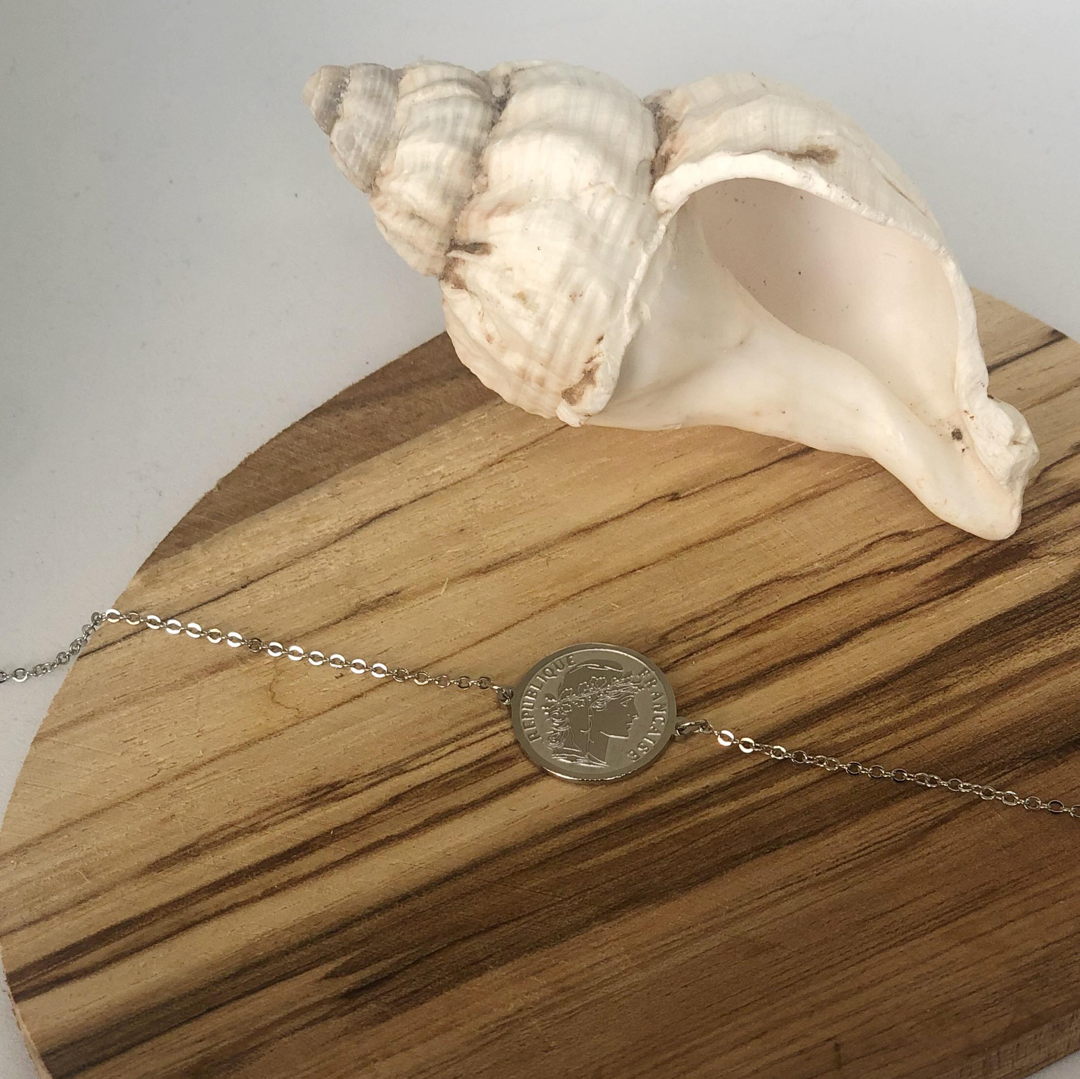 Bracelet Marianne - Argenté