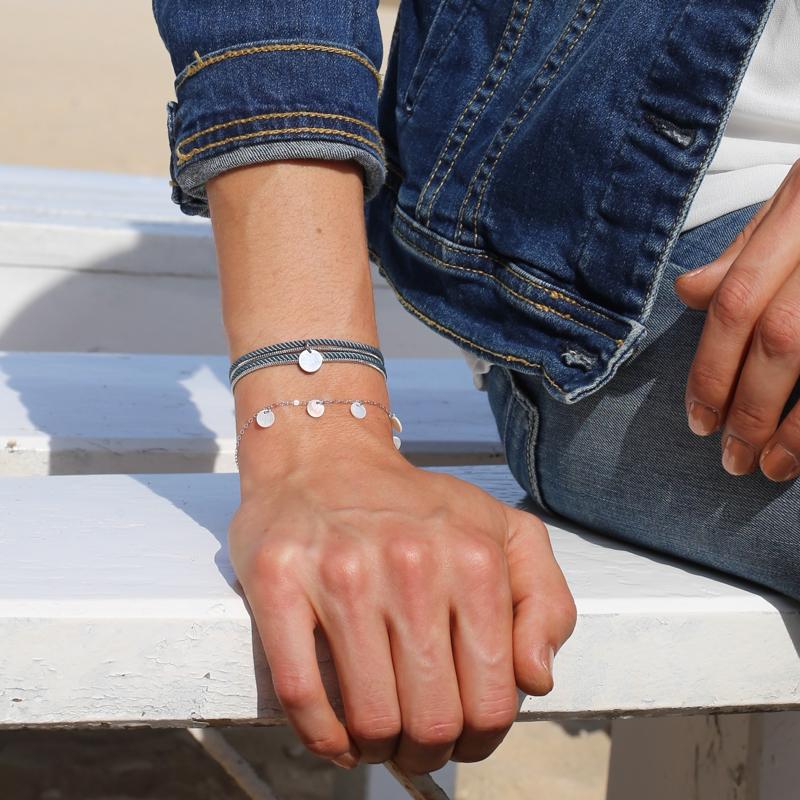 Bracelet Calypso - Argenté