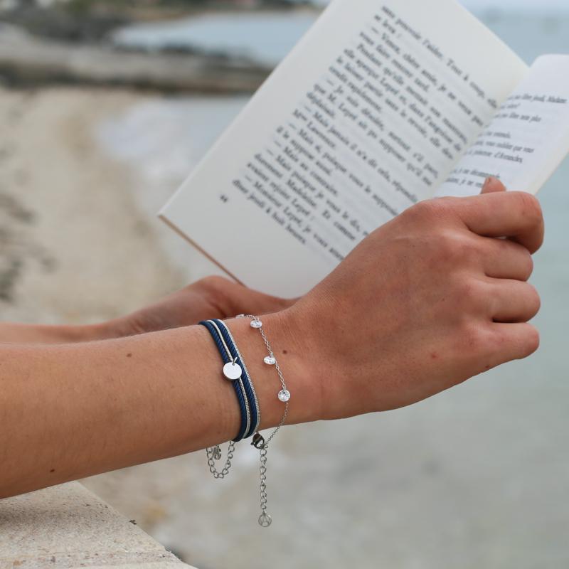 Bracelet Félicie - Argenté