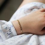 bracelet-femme-acier-or-porte-appoline