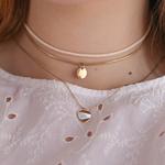 collier-femme-acier-or-venus-3