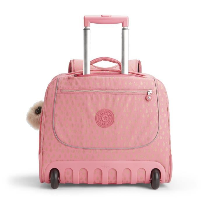 kipling-clas-dallin-pink-gold-drop-cartable-ro