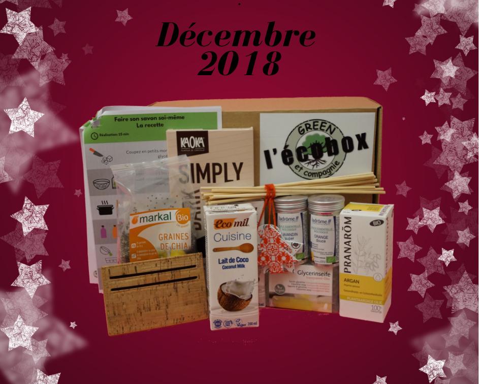 L\'Ecobox Décembre 2018
