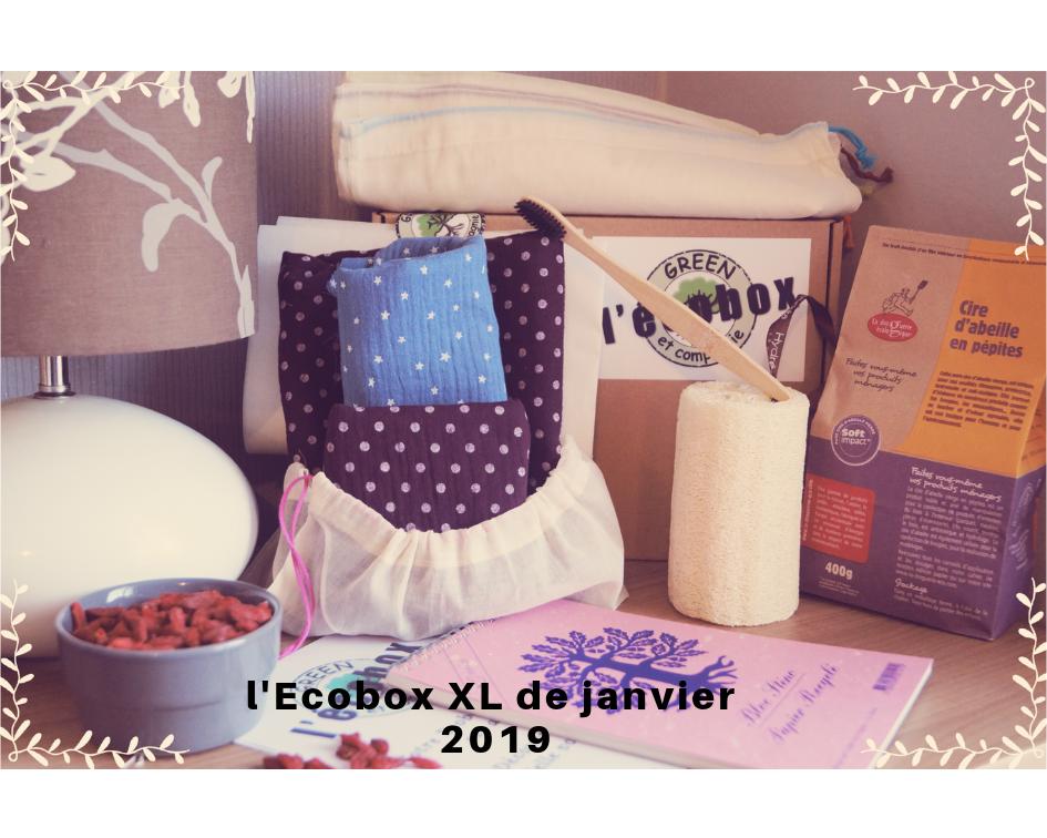 L\'Ecobox Janvier 2019