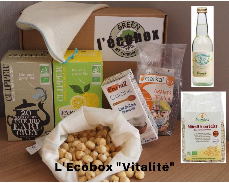 L\'Ecobox vitalité réalisez votre lait végétal Bio !