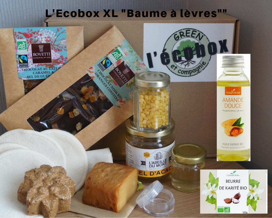 L\'Ecobox Réalisez votre baume à lèvres Bio!