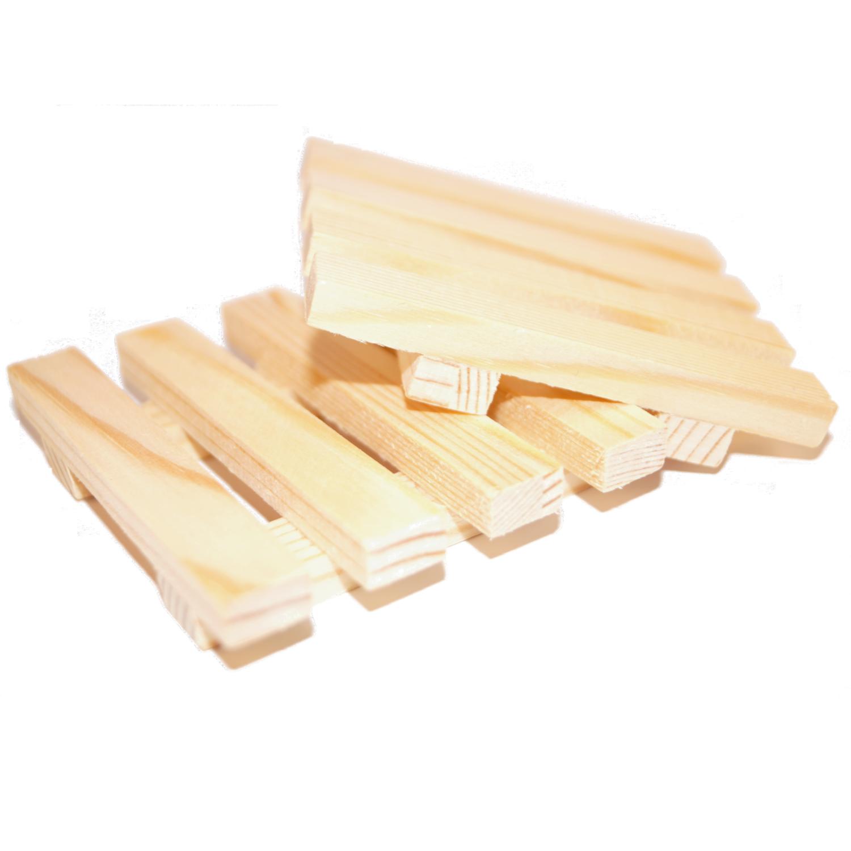 Porte savon en bois naturel