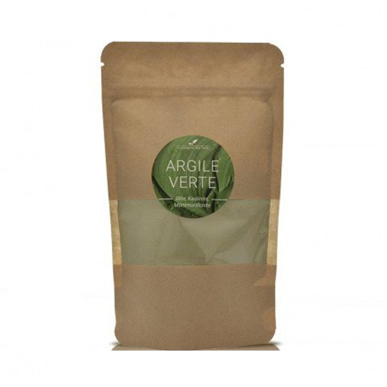 Argile verte en poudre sachet de 150 g