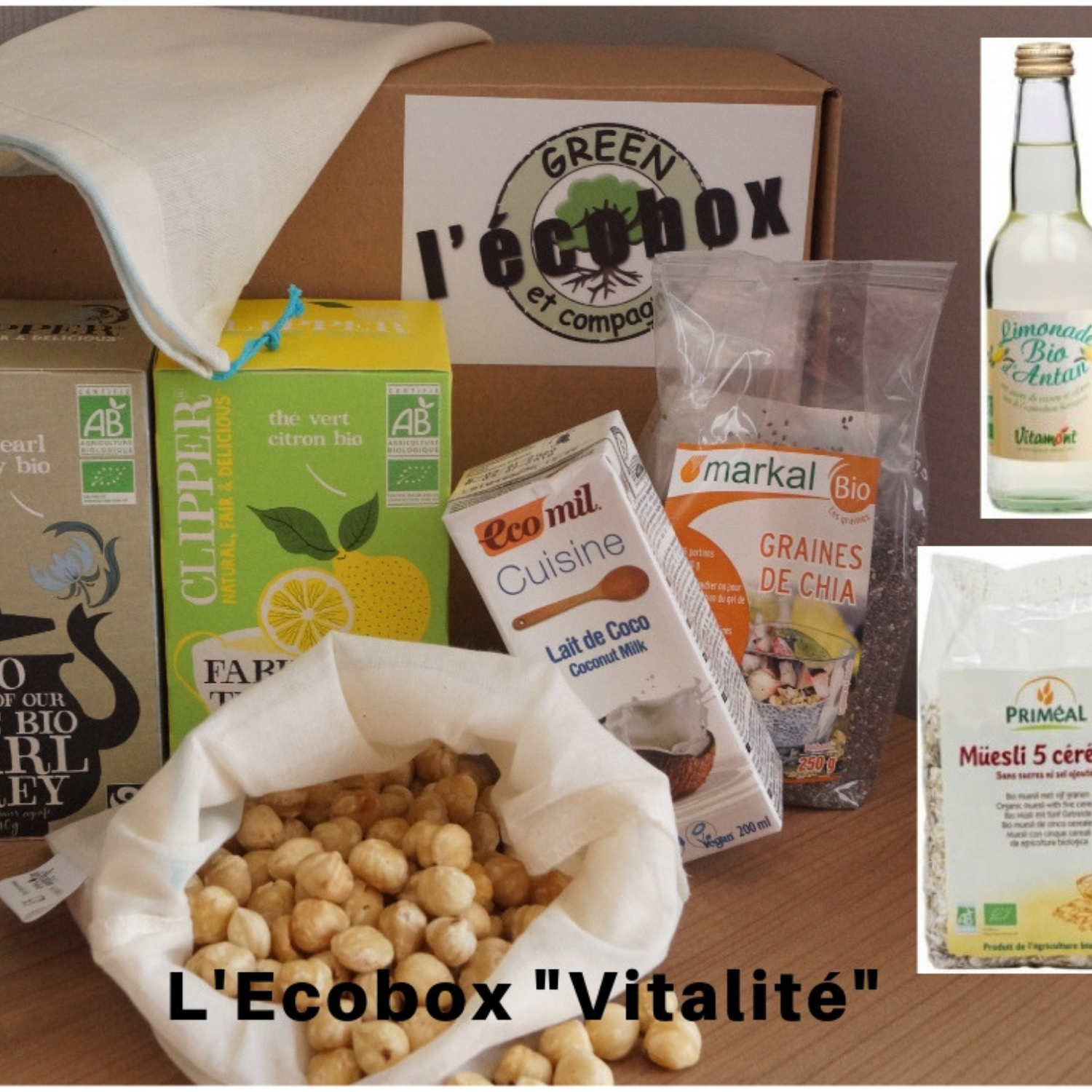 box faire son lait végtal bio