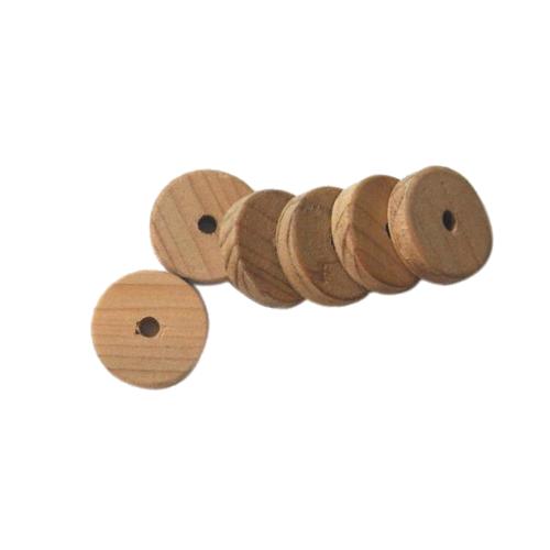 Jetons anti mites en bois de cèdre | Lot de 6