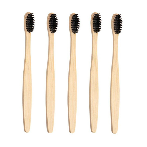 Brosses à dents en bambou | Lot de 5