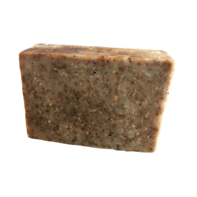 savon artisanal bio pour gommage corps exfoliant