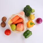 sac en filet réutilisable pour provisions