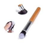 pinceaux manche naturel en bois pour maquillage
