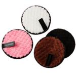 éponge en coton micro fibre démaquillant