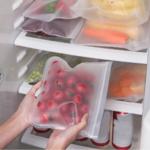 sac pour conserver les légumes en silicone alimentaire