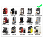 machines compatibles dosette rechargeable nespresso