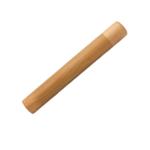 boite de transport en bambou pour brosse à dents