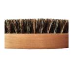 brosse à moustache et barbe en bois et poils de sanglier