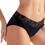 La culotte menstruelle lavable avec dentelle