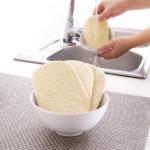 eponge végétale écologique et zéro déchet pour la vaisselle