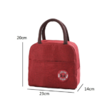 sac isotherme pour transport repas