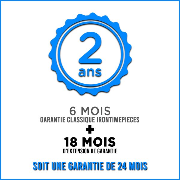 Extension de garantie - 24 mois