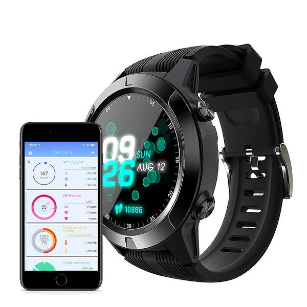 MOKA-SMT | Montre connectée GPS, Santé et Sport