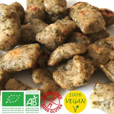 Knepfle Gnocchis Pâtes à poêler - AIL DES OURS - Vegan - Bio sans gluten - 0% allergène