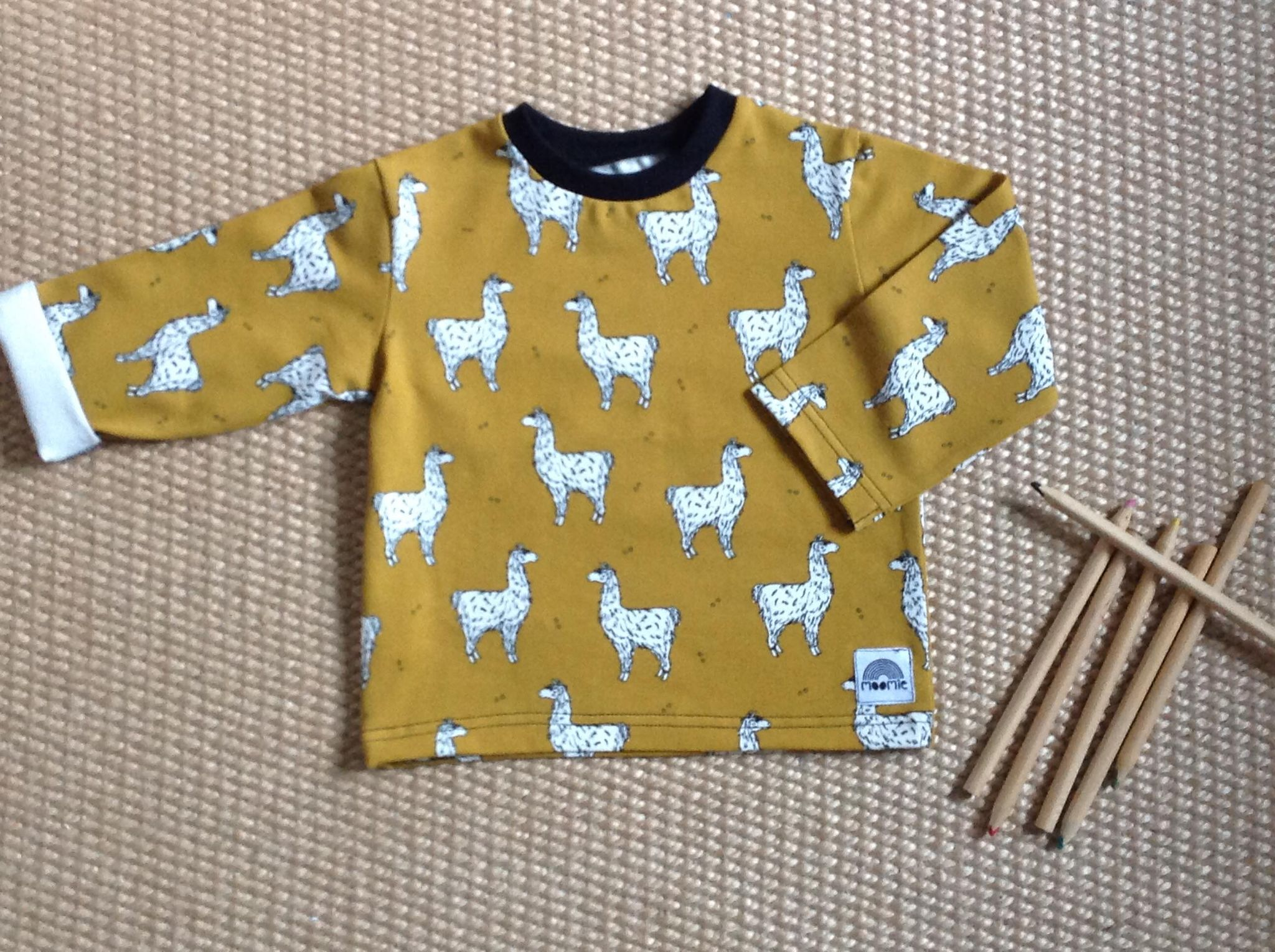 Tshirt bébé Lamas - Made in France