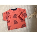 Tshirt-bebe-ours-rouille-dos