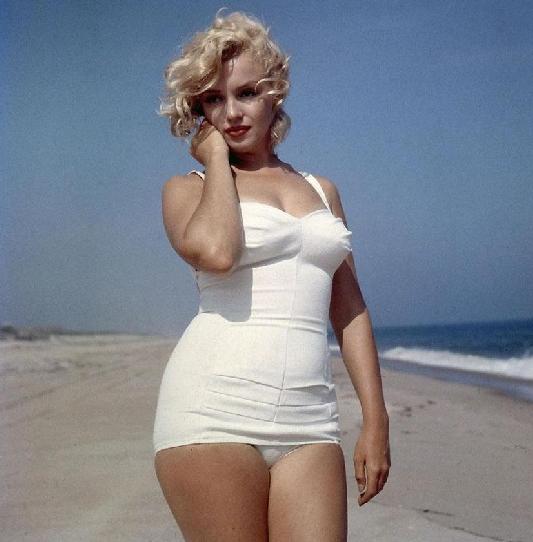 marilyn monroe la 1ere femme connue en grande taille