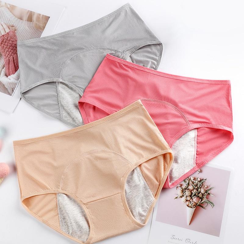 Culotte menstruelle grande taille pour le jour et la nuit