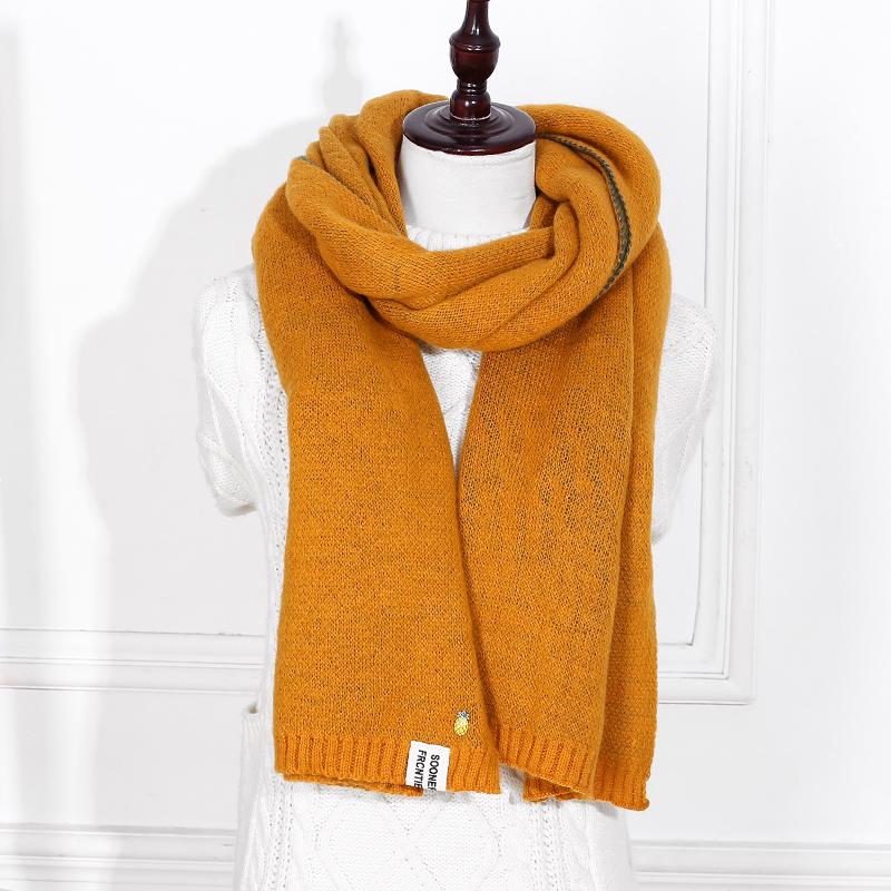 Echarpe en laine type cachemire grande taille et très chaude