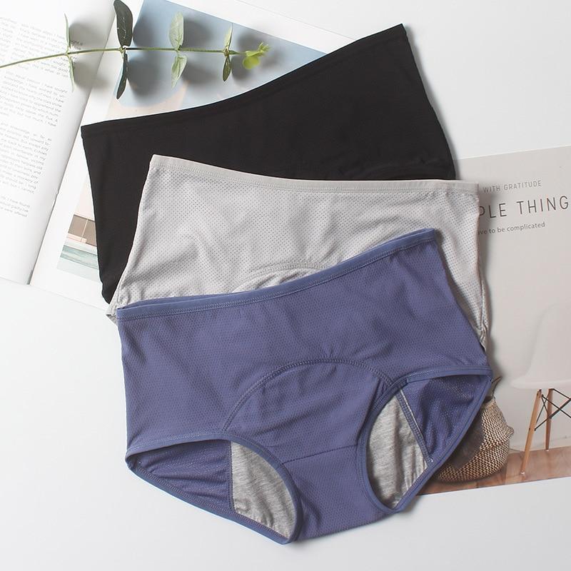 Culotte menstruel grande taille pour le jour et la nuit par 3